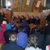 Nicoale Fuştei, doctor în Teologie, în discuție cu tinerii la biserica Universității de Stat