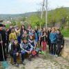 """Activitate de voluntariat la mănăstirea Vărzărești cu tinerii de la gimnaziul """"M. Eminescu"""" din or. Nisporeni"""