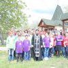 Tinerii ATOM au participat la Drumul Crucii desfășurat de Episcopia de Ungheni și Nisporeni