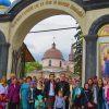 Pelerinajul tineretului ortodox din com. Ruseștii Noi
