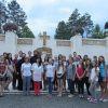 Peste 50 de tineri au participat la pelerinajul organizat în cadrul Şcolii de vară de la USM
