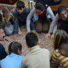 """Multă bucurie, zâmbete şi îmbrăţişări pentru copiii din centrul de plasament """"Casa Gavroche"""""""
