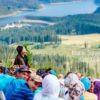 Tabăra Internațională la mănăstirea Oașa