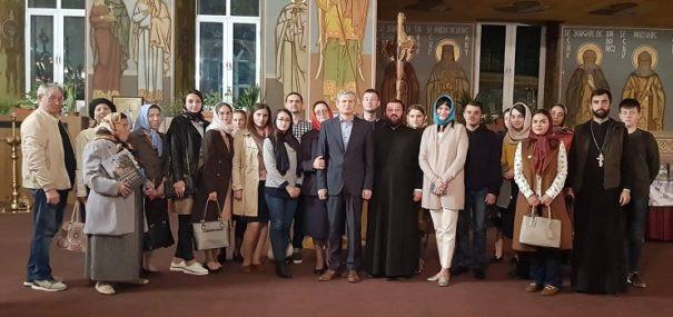 """Volumul """"Mănăstirea Căpriana cu Schitul Condrița"""" a fost lansat în cadrul serilor duhovnicești desfășurate la USM"""