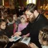 """Elevii liceului Literrarum au vizitat Biserica """"Întâmpinarea Domnului"""""""