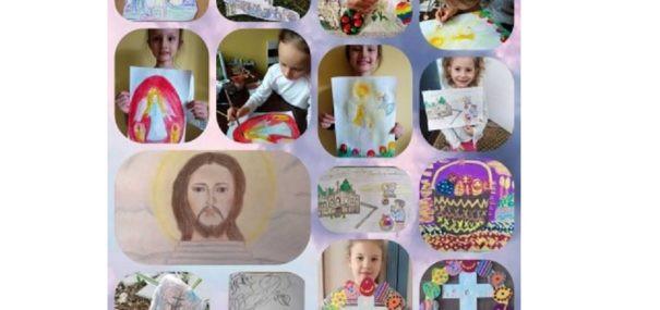 """Concursul de desen """"Mergând spre Înviere"""""""