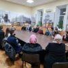 """""""Tradiția icoanei în Bizanț și destinele sale"""" la Biserica USM, cu domnul profesor Emil Dragnev"""